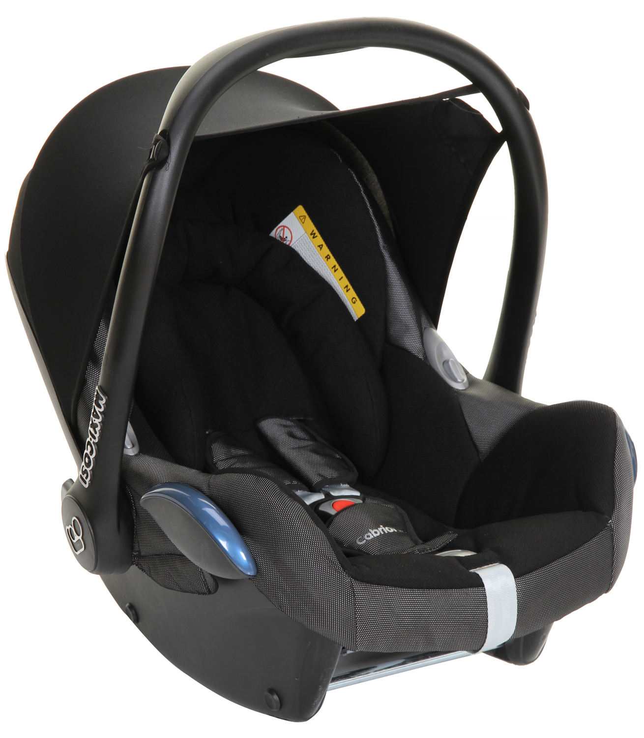 Maxi Cosi Cabriofix Baby Car Seat Black Reflection
