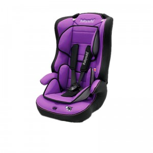 Booster seat with straps