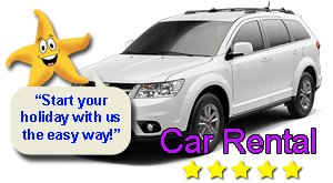 Five Star car rental from Malaga airport