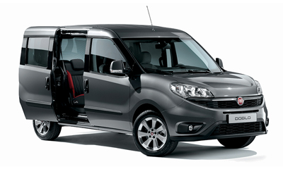 Medium family car rental with more luggage space