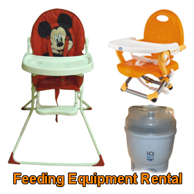 Feeding equipment rental