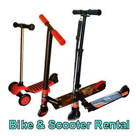 Scooter and Bike rental