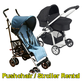 Pushchair/Stroller rental