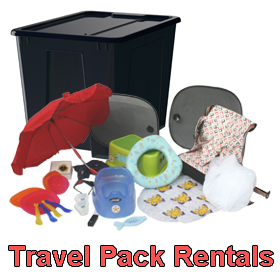 Travel pack rental