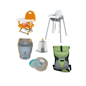 Holiday baby meal time rental products
